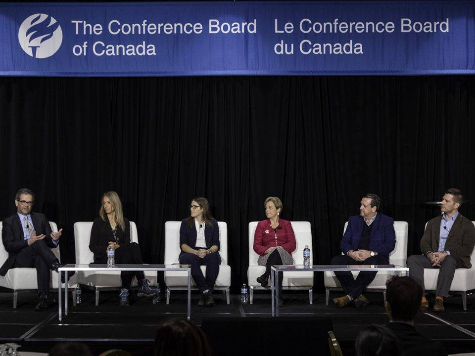 Panelists during panel discussion